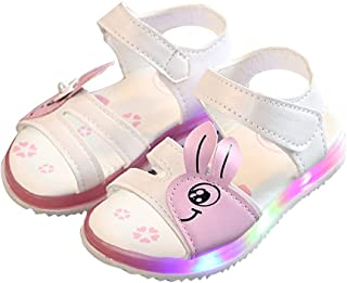 New LED Glowing Sandals for Girls Children Shoes Light Up Sandals Summer Toddler Beach Slippers Casual Sandals for girls