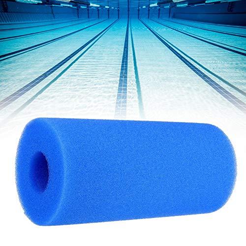 JoyFan Filterschwamm Wiederverwendbarer, waschbarer Filterpatronenschwamm für Schwimmbäder
