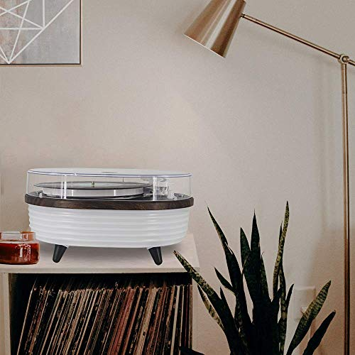 Lauson TT238-LSN Tocadiscos Moderno con Bluetooth y Luces Led ...