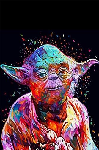 YCMXMY Puzzle 5000 Piezas, Star Wars Yoda, para Adultos, De Madera Montaje Personalizado Rompecabezas Divertido, 140X105Cm