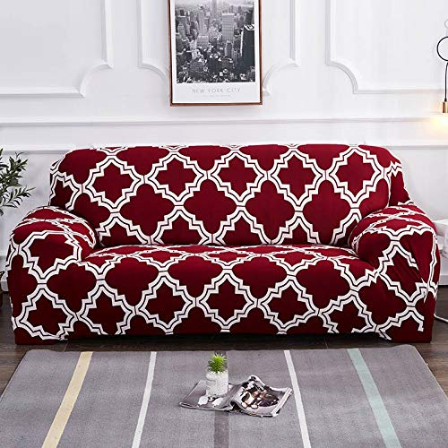 ASCV Sectional Sofa Cover All-Inclusive Slip-Resistant Couch Cover For Living Room Furniture Slipcovers A9 1 Seater