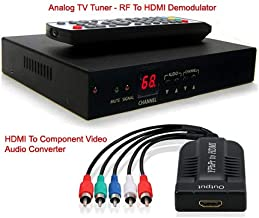 AllAboutAdapters RF Coax to HDMI VGA Component YPbPr...