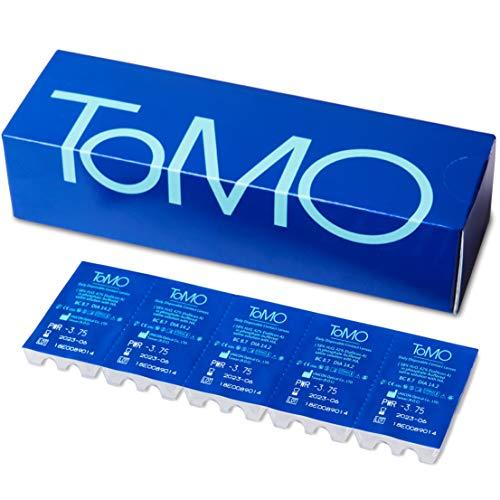 ToMO Tageslinsen +2,25 Dioptrien, hochwertige Kontaktlinsen, BC 8,7 mm, DIA 14,2 mm