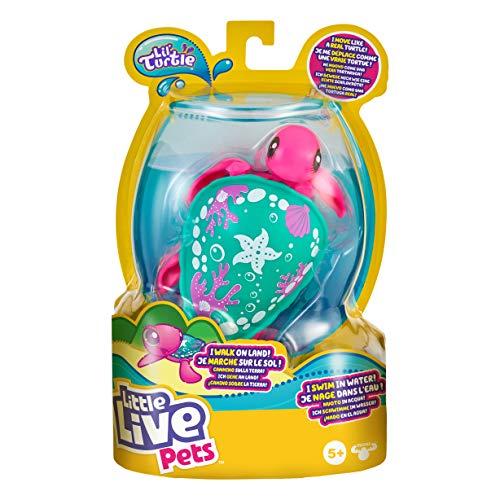 Little Live Pets Lil' Turtle Seashore (Paquete Individual) (Moose Toys 26330)