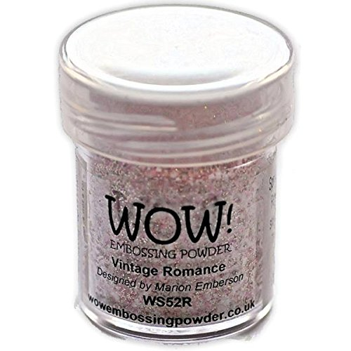 Wow Embossing Powder Wow Embossing-Puder, 15ml, Vintage Romance