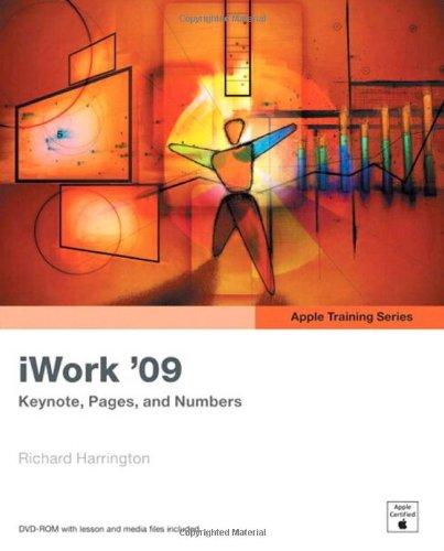 Apple Training Series: iWork 09