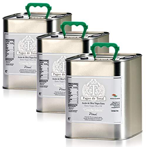 3 latas de 2,5 litros - Pagos de Toral Cosecha Selecta - Ace