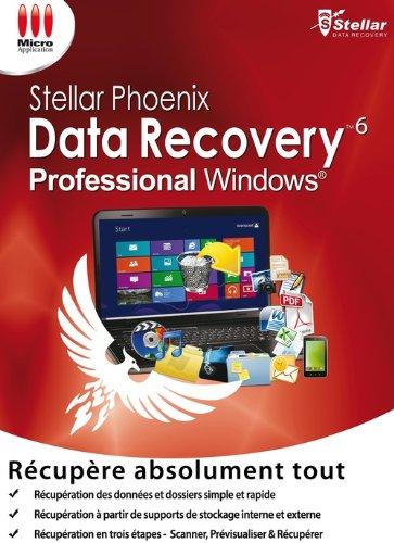 Stellar Phoenix Windows Data Recovery 6 Pro [Téléchargement]