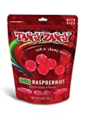 TANGY ZANGY Gluten Free, Gelatin Free Soft & Chewy Sour Raspberries Gummi Candy, 9 Ounce Resealable Bag