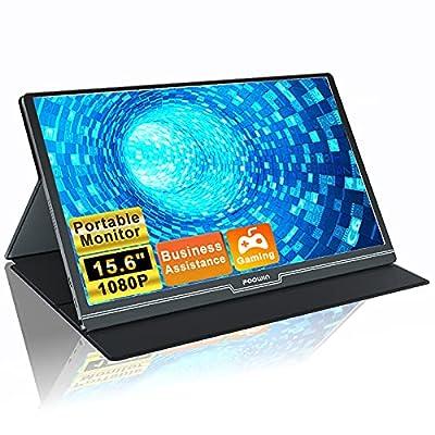 Foowin Portable Monitor 15.6 Inch 100% SRGB 108...