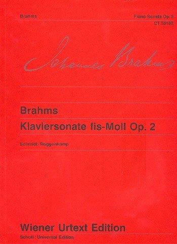Sonate Fis-Moll Op 2 (Urtext). Klavier