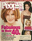 * FABULOUS IN THEIR 40s * Rene Russo, Andie MacDowell, Kim Basinger, Michelle Pfeiffer - September 13, 1999 People Weekly Magazine