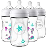 Philips Avent Natural Baby Bottle with Seahorse...