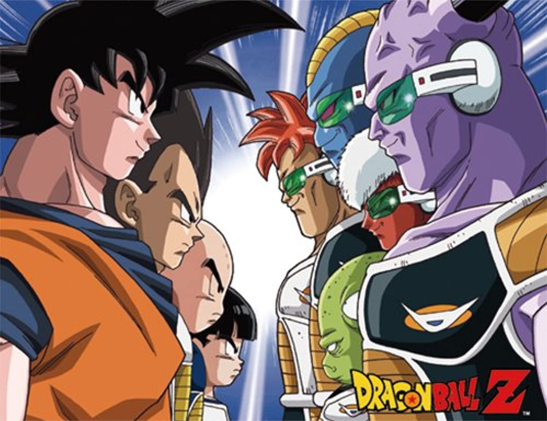Dragonball Z Throw Blanket Z Warriors VS. Ginyu Squad