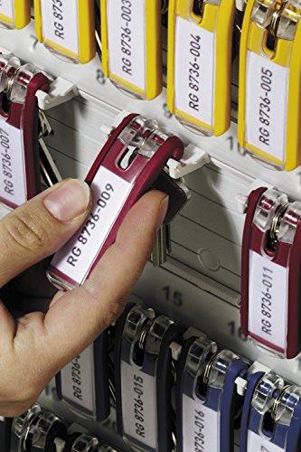 DURABLE Key Box with Key Lock, Holds 72 Key Tags, 11-3/4 x 4-5/8 x 15-3/4 Inches, Brushed Aluminum (195523) Photo #3