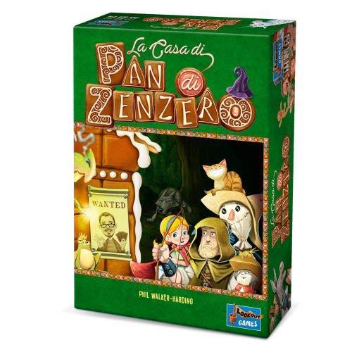 Asmodee-La Casa di Pan di Zenzero, Gioco da Tavolo, Colore, 8090