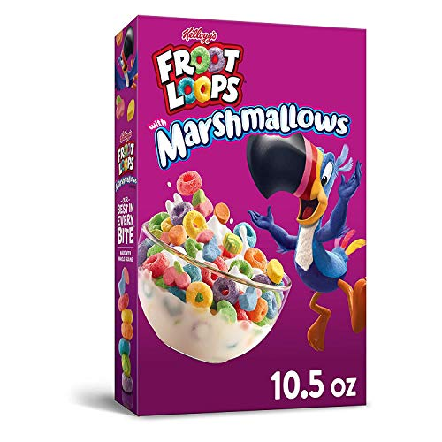 Froot Loops - Getreide Froot Loops with Marshmallows - 297 Gramm