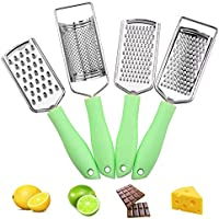 4-Piece AllesCosy Graters Cheese Grater Kitchen Set