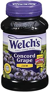 Welch's Grape Jam, 32-Ounce Jars (Pack of 12)