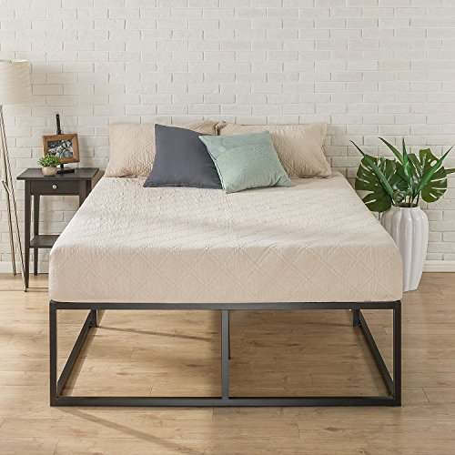 Zinus Joseph Modern Studio 18 Inch Platforma Bed Frame / Mattress Foundation / Boxspring Optional / Wood slat support, Full