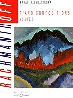 ラフマニノフ : ピアノ作品集 第3巻/ブージー & ホークス社