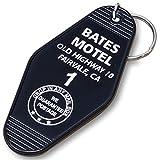 Vintage Hotel Motel Keychain (Black Bates Motel)