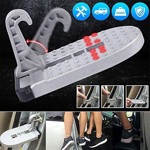 Preisvergleich Produktbild XuBa Aluminium-Autotürstufe Dachleiter Fußständer Türverriegelung Treppe Dachpedal