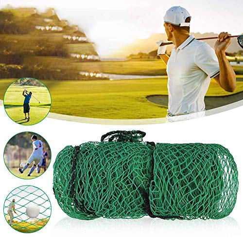 Golf Frapper Netz, für Golfbälle, Umschlagnetz, für Golfschläger, Heavey Duty, für Golfsport im Innenbereich, 10 x 10 Pi