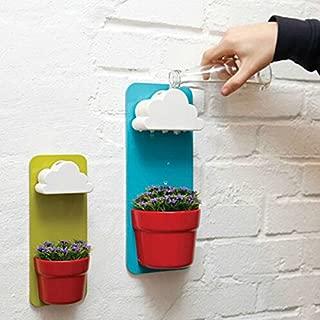 accessgood Plastic Creative Clouds Rainy Pot Wall-hung Flower Pot