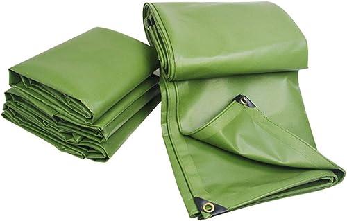 Bache Toile antipluie Toile de Prougeection Solaire Imperméable épaissir Toile Canopy Rain Cloth Trois Enduites en Plastique Enduit
