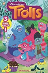 Trolls 3-in-1 #1: Hugs & Friends, Put Your Hair in the Air, Party With The Bergens Paperback