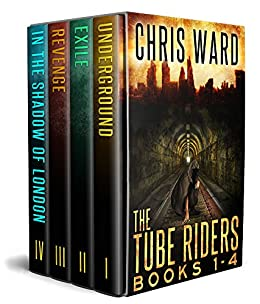 The Tube Riders Complete Series Volumes 1-4 by [Chris Ward]