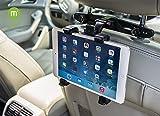 MFEEL Car Back Seat Headrest Mount Holder with 360 Degree Adjustable...