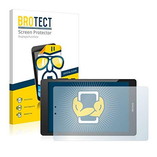 BROTECT Schutzfolie kompatibel mit Archos 80 Cesium (2 Stück) klare Bildschirmschutz-Folie