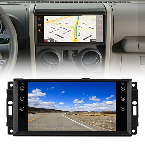 Radio estéreo de doble Din para coche, navegación con pantalla táctil de 7'para Android 9.1 Radio GPS para coche Reproductor de música Blu-etooth apto para el sistema de navegación de coche Je-ep Com
