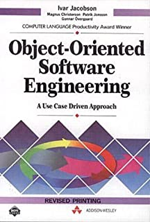 Object Oriented Software Engineering: A Use Case Driven Approach Revised Printing edition by Jacobson, Ivar published by Addison-Wesley Professional Hardcover