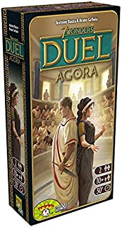 Asmodee 7 Wonders Duel - Agora, Expansion, Connoisseur Game, Strategy Game, German
