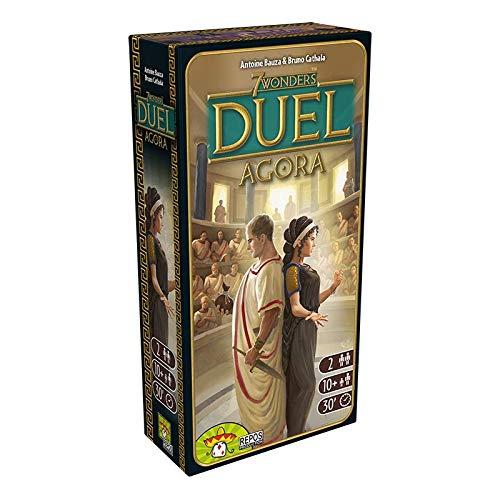 Asmodee 7 Wonders Duel - Agora, Erweiterung, Kennerspiel, Strategiespiel, Deutsch