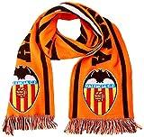 Valencia CF 01BUF27-00 Bufanda Telar, Adultos Unisex, Blanco/Naranja, Talla Única