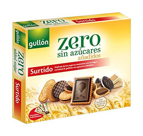 Gullón Surtido Galletas ZERO sin Azúcares, 319 Gramos