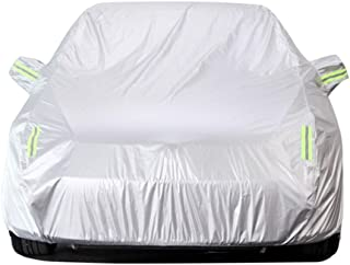 Full Car Cover Compatible with Ford Focus Indoor and Outdoor General Flame Retardant Car Shield Windshield Car Tent Tarpaulin Insulation Car Shelter Sun Protection Cover