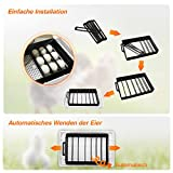 Zoom IMG-2 sailnovo incubatrice per uova eggs