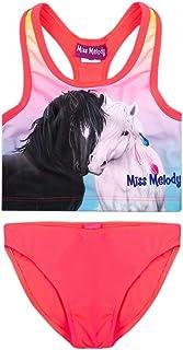 Miss Melody Niña Trajes de baño, bañador, Pink