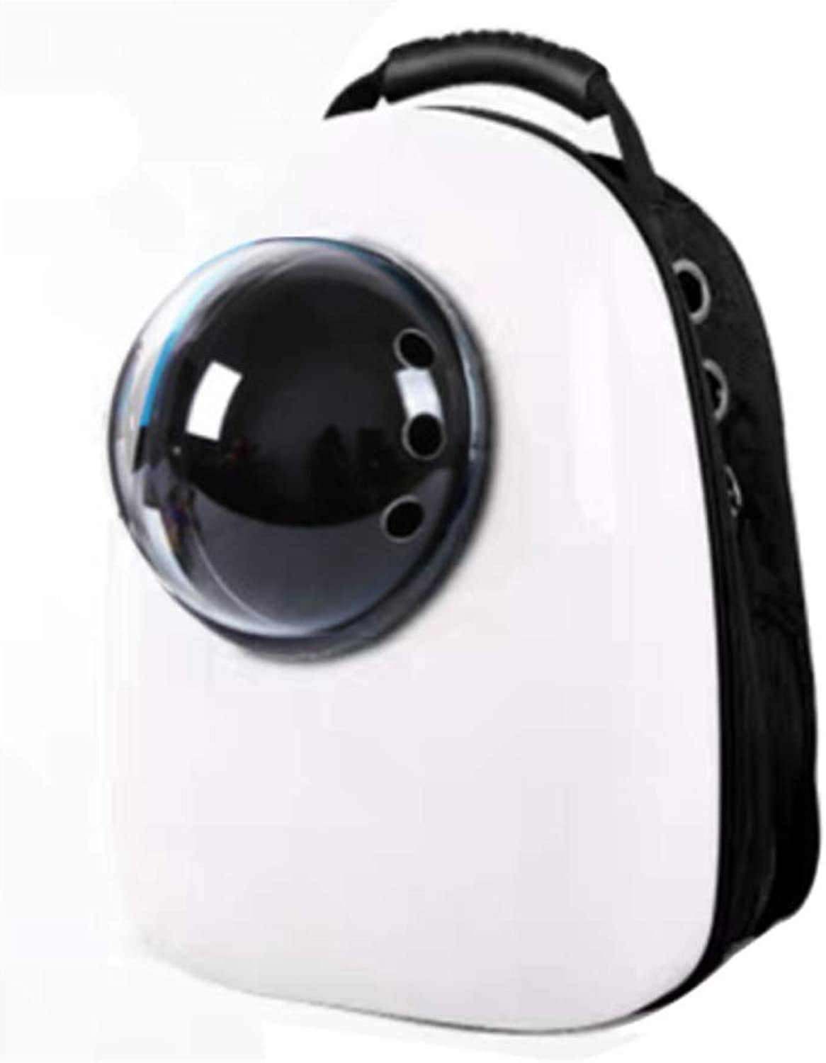 Onnear Innovative Traveler Bubble Backpack Pet Carriers for Cats And Dogs,Pet Space Capsule Carrier Backpack Waterproof Travel Pet Bed Easy Trips with Dogs and Cats (color   White)