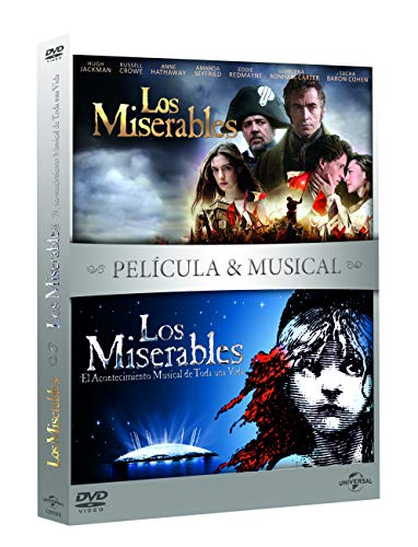 Pack: Los miserables Pelicula + Musical [DVD]