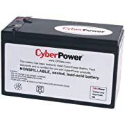 CyberPower RB1280A Replacement Battery Cartridge, Maintenance-Free, User Installable