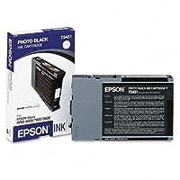 Epson America T543100 ウルトラクロームインクカートリッジ ブラック