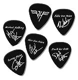Van Halen printed Signature Guitar Picks Plectrum Band set medium 0.71mm