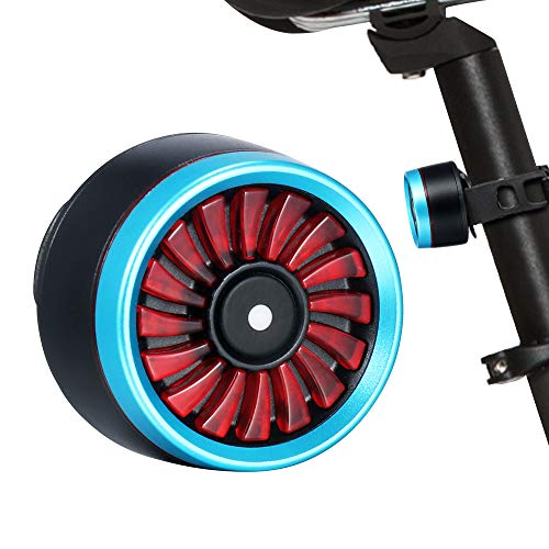 Nexmon Luz Trasera Inteligente Bicicleta, Luz Impermeable Recargable USB, Luz Trasera Bicicleta (Blue)