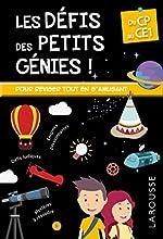 Les Défis des Petits Genies, du CP au CE1- Cahier de vacances de Rémy Léglise